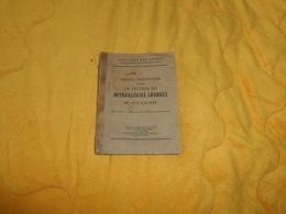 LIVRE NOTICE PROVISOIRE POUR LA SECTION DE MITRAILLEUSES LOURDES DE PETIT CALIBRE..1946..MINISTERE DES ARMEES DIRECTION - Livres