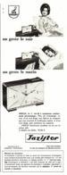 "PUB REVEILS "" JAZISTOR DRILIC "" De "" JAZ "" 1965 ( 3 ) - Alarm Clocks"