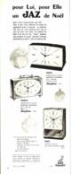 "PUB REVEILS "" JAZISTOR DRILIC "" De "" JAZ "" 1965 ( 5 ) - Alarm Clocks"