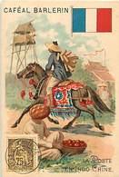 - Chromos -ref-ch390- Caféal Barlerin - Tarae - Rhône- La Poste En  Indo Chine - Indochine - Asie - Facteurs - Metiers - - Thé & Café