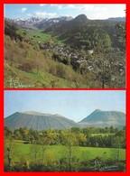 7 CPSM/gf AUVERGNE. Les Puys, Sancy, Dôme, Côme, Lassolas. Les Lacs, Guery, Pavin, Chauvet...F249 - Unclassified