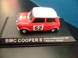 BMC COOPER S  Rallye Montecarlo 1965 T. Makinen - P. Easter - Carros