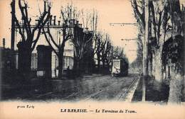 CPA LA BARASSE - Le Terminus Du Tram - Saint Marcel, La Barasse, Saintt Menet