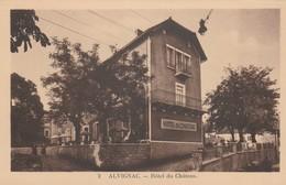 CPA  46 ALVIGNAC HOTEL DU CHATEAU - Non Classificati