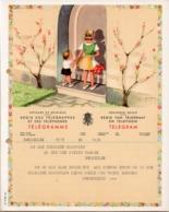 Belgium - Telegram Form B. 18 (F / V) Wedding Print Congratulations Used 1962 - Otros