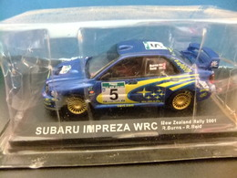 SUBARU IMPREZA WRC Rallye New Zealand 2001 R. Burns - R. Reid - Carros