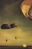 SPORTS . PARACHUTISME . (Fallschirmspringen ) Arrivée Au Sol (Landung Auf Dem Boden) - Paracaidismo