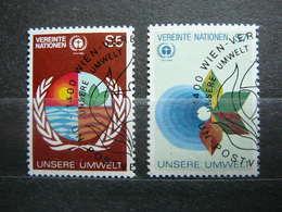 Our Environment # United Nations UN Vienna Austria 1982 Used #Mi. 24/5 - Oblitérés