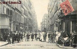 PARIS RUE SAUFFROY AVENUE DE CLICHY 75 - Arrondissement: 17