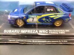 SUBARU IMPREZA WRC Rally New Zealand 2003 P. Solberg - P .Mills - Carros
