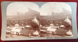 GUATEMALA VOLCAN PALIN PHOTO STEREO 1900 - Guatemala