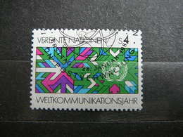 Int. Communications Year # United Nations UN Vienna Austria 1983 Used #Mi. 29 - Oblitérés