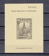 Catalunya 1937 VICINDO Vignette ** MNH (zie Scan) - Non Classificati