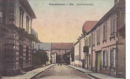 Suisse - Oberehnheim I. Els. Bahnhofstrasse - Zwitserland