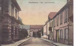 Suisse - Oberehnheim I. Els. Bahnhofstrasse - Suisse