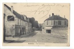 21959 - Achères Rue Coffinières 1914 - Acheres