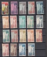 Belgie Belgique: Bruxelles 1897 VICINDO Vignette * MH Ou Sans Gomme Mixed Lot  (zie Scan) - Commemorative Labels