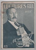 LECTURES POUR TOUS 01 04 1919 - ARTHUR CONAN DOYLE SHERLOCK HOLMES - REINE MARIE DE ROUMANIE - LOUVRE - DETECTEUR D'OBUS - Zeitungen