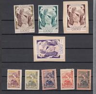 Belgie Belgique: GENT 1898 1899 VICINDO Vignette * MH Ou Sans Gomme Mixed Lot  (zie Scan) - Commemorative Labels