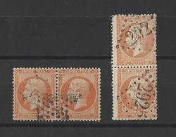 FRANCE  YT  N° 23  Obl  1862 - 1862 Napoleon III