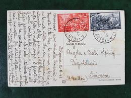 (36759) STORIA POSTALE ITALIA 1948 - 6. 1946-.. República