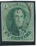 België 9 Vier Mooie Randen - 1858-1862 Médaillons (9/12)