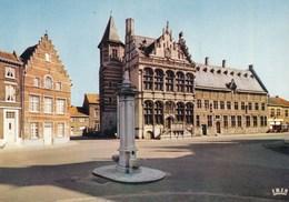 Zoutleeuw, Stadhuis En Hallen (pk60319) - Zoutleeuw