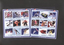 Winter Olympic 2002 IMPERF 2 Sheets Of Guinea Bissau MNH - Winter 2002: Salt Lake City
