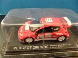 PEUGEOT 206 WRC Rallye De Montecarlo 2003  R. Burns - R. Reid - Carros
