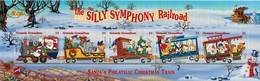 MWD-090427-3 MVT MINT PF/MNH ¤ GRENADA GRENADINES 1998 ¤ RAILWAYS - THE WORLD OF WALT DISNEY - SILLY SYMPHONY - Disney