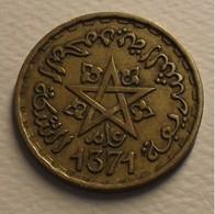1952 - Maroc - Morocco - 1371 - 20 FRANCS, Mohammed V, Y 50 - Morocco