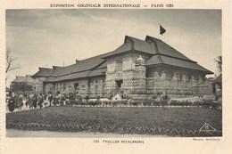Exposition Coloniale Internationale, Paris 1931, Pavillon Néerlandais (pk60321) - Exposiciones