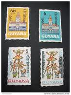 K21174 - Set  MNH  Guyana  Christmas 1969 - Guyane (1966-...)