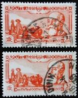 1938 INDOCHINE Yt 199 Paul Doumer 2 Teintes Pâle Et Foncé - Indochina (1889-1945)
