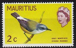 MAURITIUS [1968] MiNr 0319 ( **/mnh ) Tiere - Mauritius (1968-...)