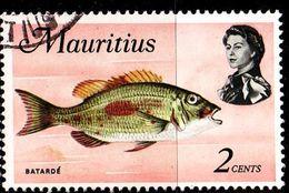 MAURITIUS [1969] MiNr 0331 Y ( O/used ) Fische - Mauritius (1968-...)