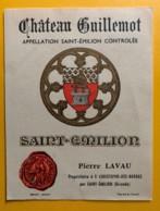 10504 - Vhâteau Guillemot   Saint-Emilion - Bordeaux