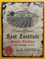 10515 - Vieux Castel Haut Lavallade 1969  Saint-Emilion - Bordeaux