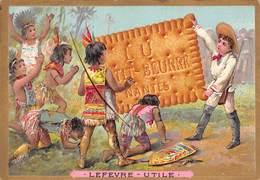 Chromos Réf. T 18-107. Biscuits Lu - Tribu Colons - Lu