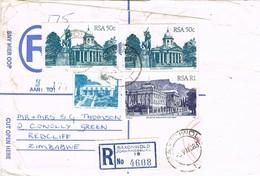 32611. Frontal Carta Certificada SAXONWOLD (Johannesburg) South Africa 1983 - África Del Sur (1961-...)