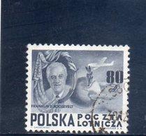 POLOGNE 1948 O - 1944-.... Repubblica