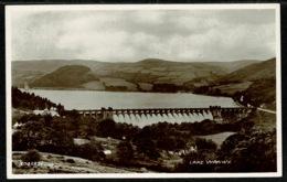 Ref 1285 - Real Photo Postcard - Lake Vyrnwy - Montgomeryshire Wales - Montgomeryshire