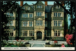 Ref 1285 - John Hinde Postcard - George IV Hotel - Criccieth Caernarvonshire Wales - Caernarvonshire