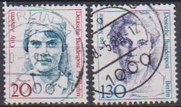Berlin 1988 Mi-Nr.811 - 812 O Gest. Frauen Der Deutschen Geschichte (B 2012) Günstige Versandkosten - Oblitérés