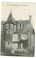 37 La Roche Cotard Par Langeais (coté Nord) , Animée, Datée 1911 Tb état. - France