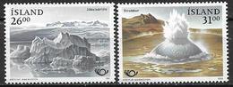 Islande 1991 N° 697/698 Neufs Norden Tourisme - 1944-... Repubblica