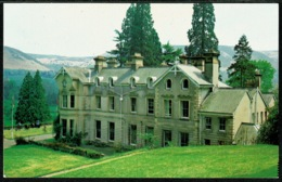 Ref 1285 - Postcard - Girl Guide Training Centre Broneirion Llandinam Montgomeryshire Wales - Montgomeryshire