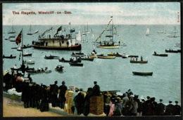 Ref 1285 - 1906 Postcard - The Regatta - Westcliff-on-Sea Essex - England