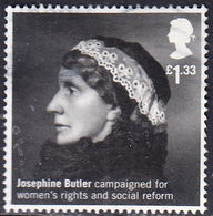 2016 British Humanitarians - Josephine Butler, 1828-1906 £1.33 SG3815 - 1952-.... (Elizabeth II)