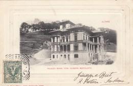 ALTARE-SAVONA-PALAZZO MONS.GIUSEPPE BERTOLOTTI-CARTOLINA VIAGGIATA IL 10-8-1903 - Savona